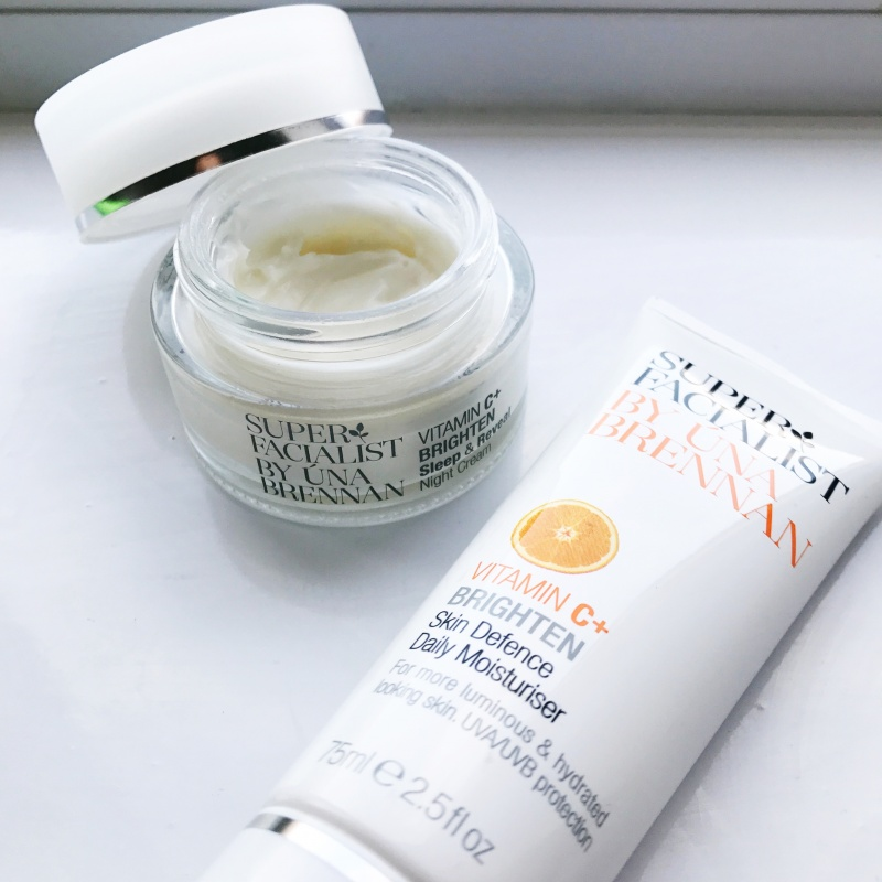 Super Facialist Vitamin C moisturiser and night cream from their skincare range