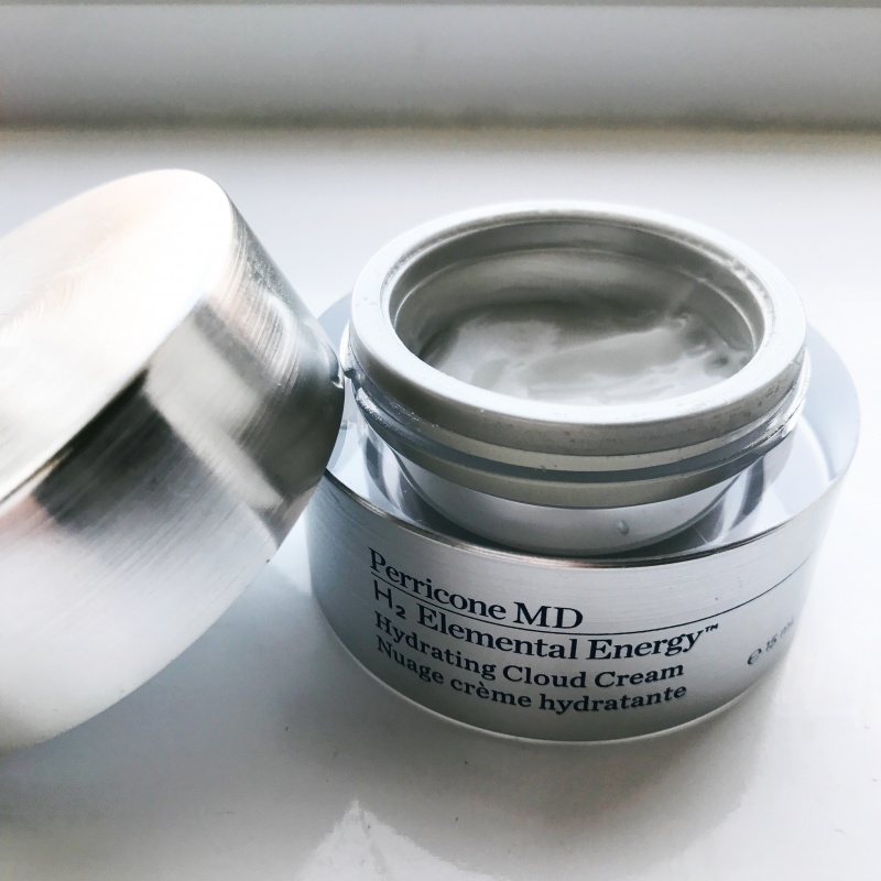 Perricone MD, H2 Elemental energy skincare range, hydrogen skincare, Dermatologist, hydrating cloud cream review