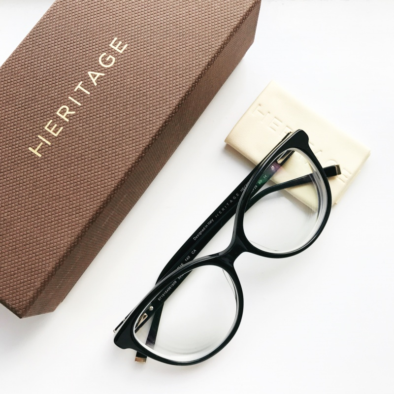 High prescription glasses, short sighted, Heritage glasses, Vision Express, black glasses, designer glasses