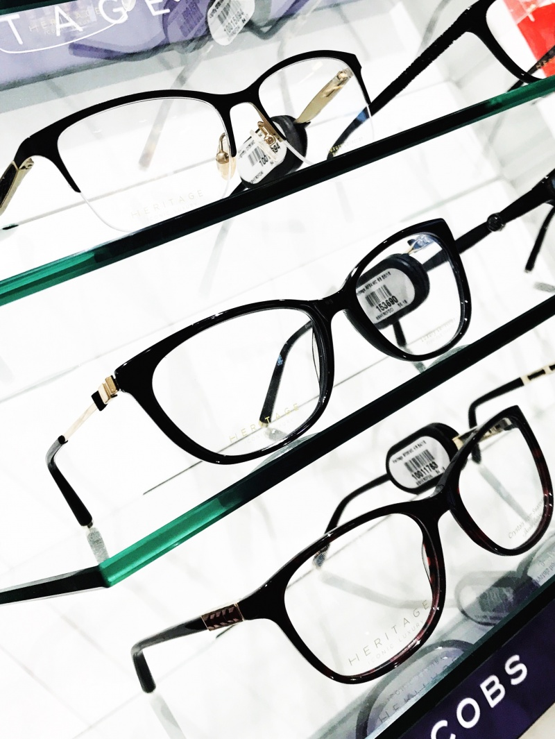 Heritage glasses, black glasses, designer glasses, Heritage, short sighted, Vision express